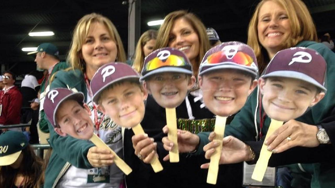 Pearland moms at the LLWS
