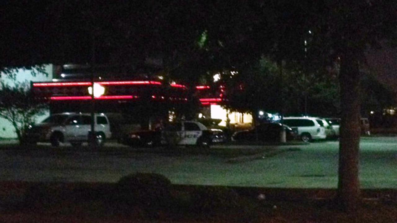 Police at Dennys