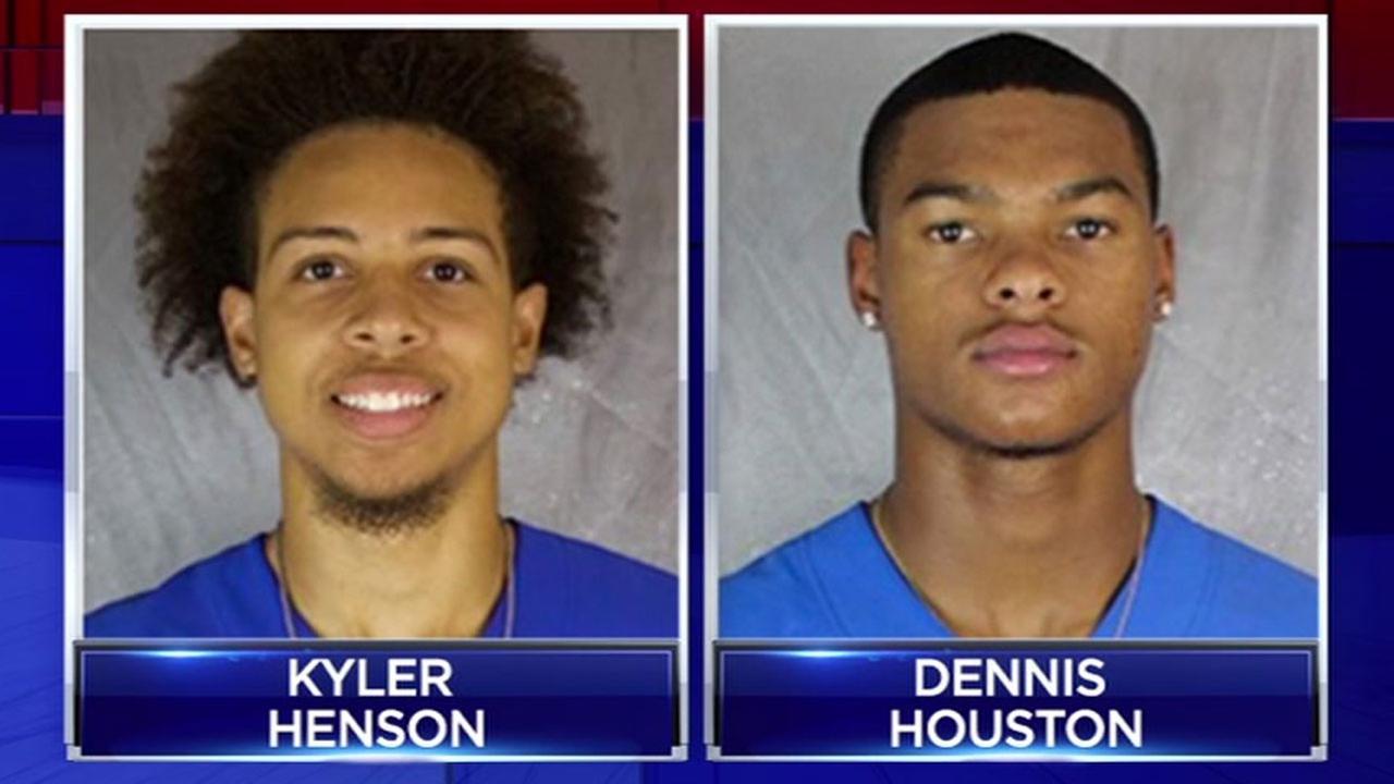 HBU sex assault suspects - Kyler Henson and Dennis Houston