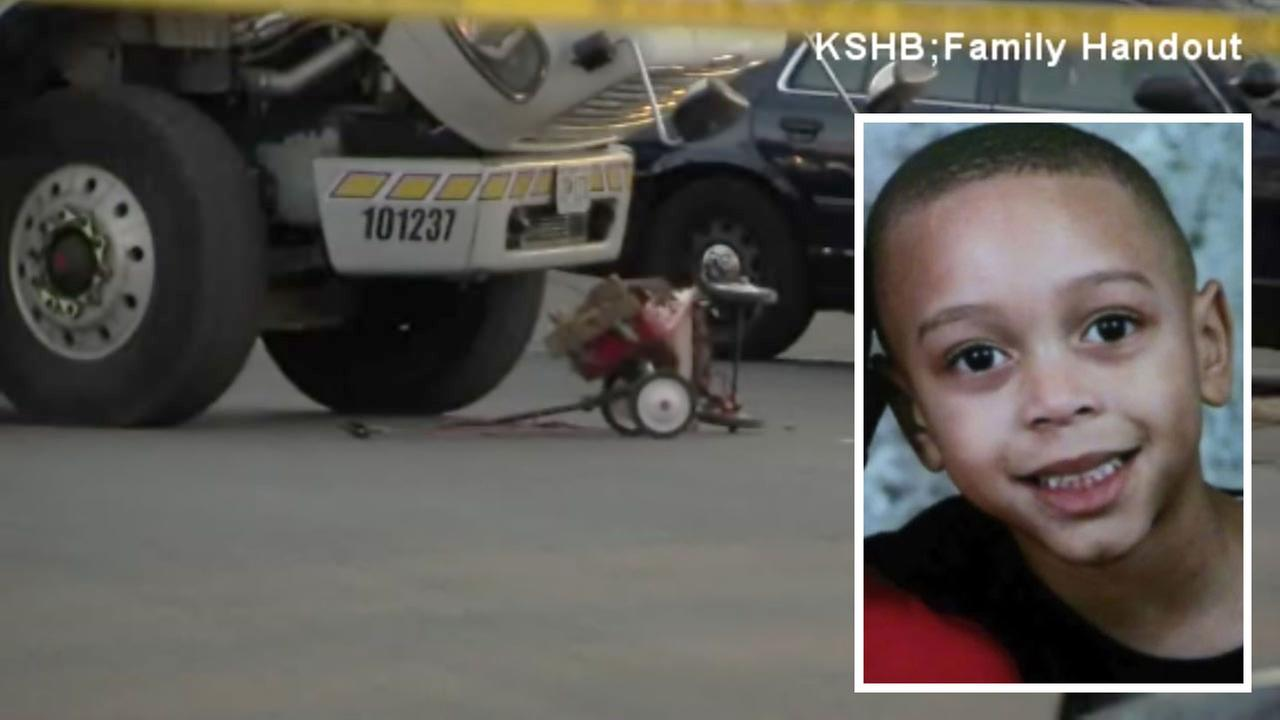 Garbage truck kills 8-year-old boy