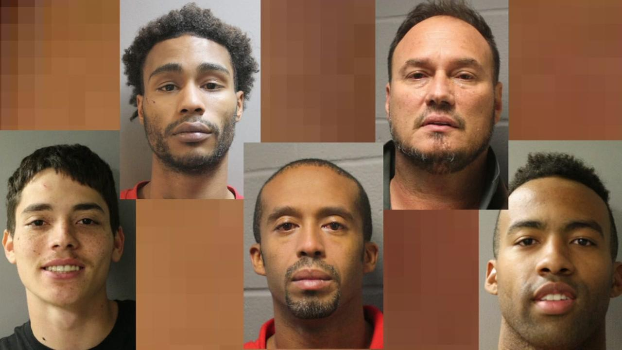 Arrests made in connection with violent assault and robbery in Harris County.