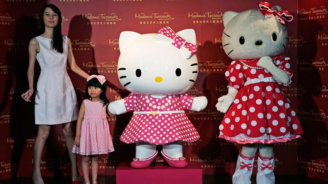 Hello Kitty wax figure