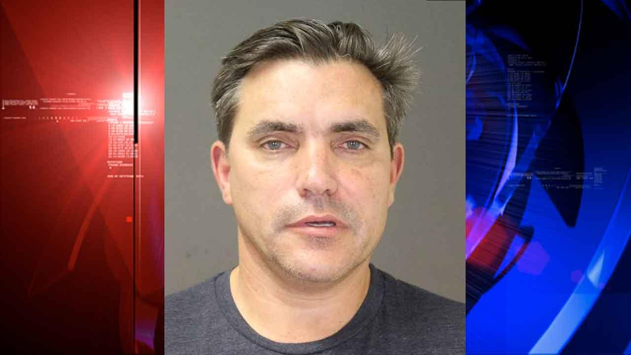 This photo provided by the Southampton Town Police Department on Long Island shows celebrity chef Todd English, 54, after his arrest early Sunday morning, Aug 31, 2014.