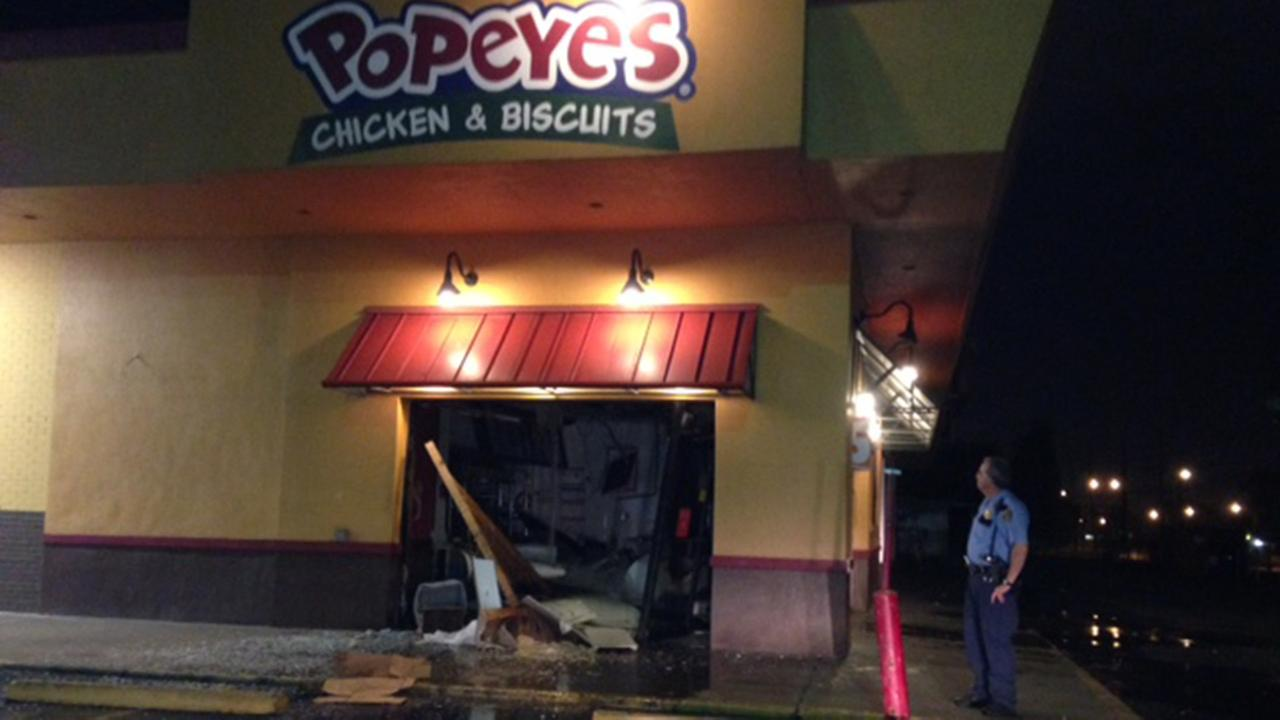 damage at popeyes