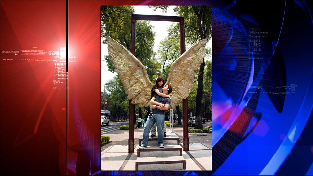 Jorge Marins Wings of the City art exhibit
