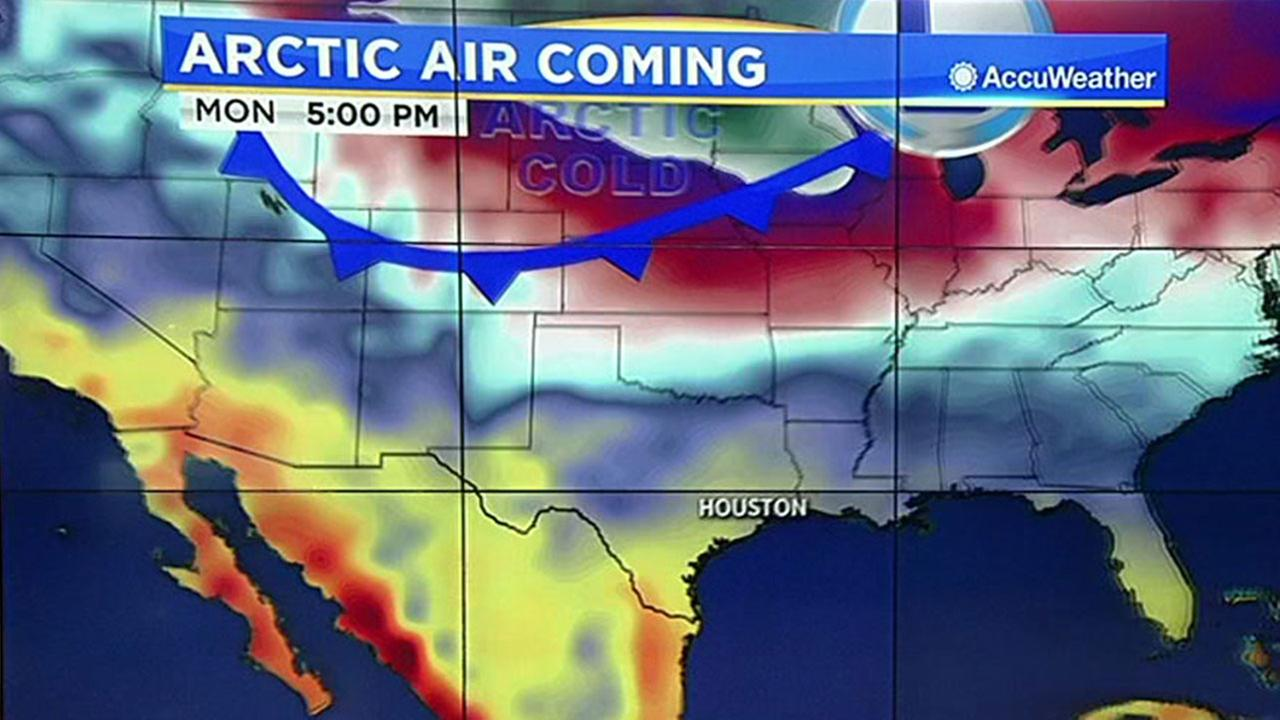 Could Arctic front bring mix of ice, snow and freezing rain?