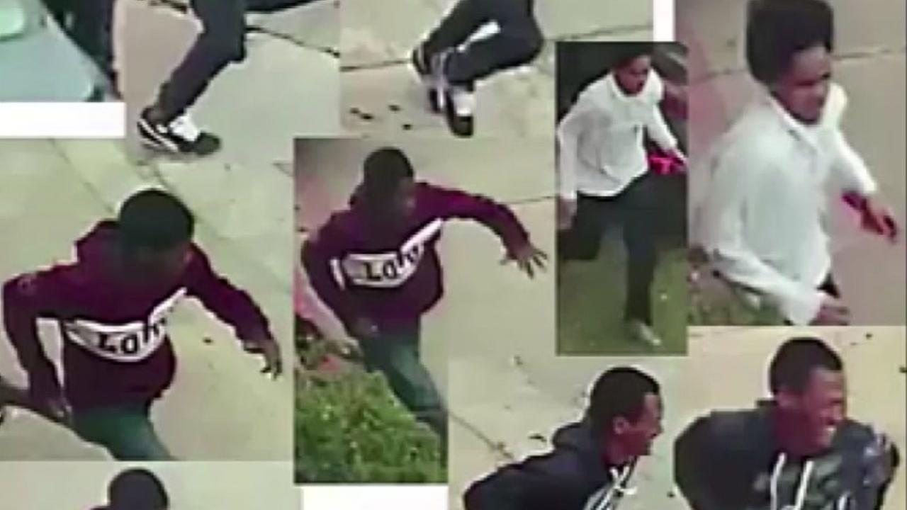 Houston police are asking for the publics help identifying young suspects accused of pointing a gun at a pregnant womans stomach.