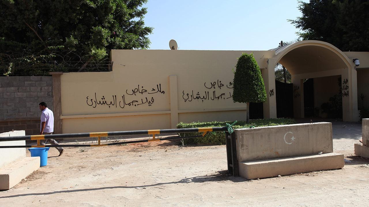 U.S. consulate in Benghazi, Libya