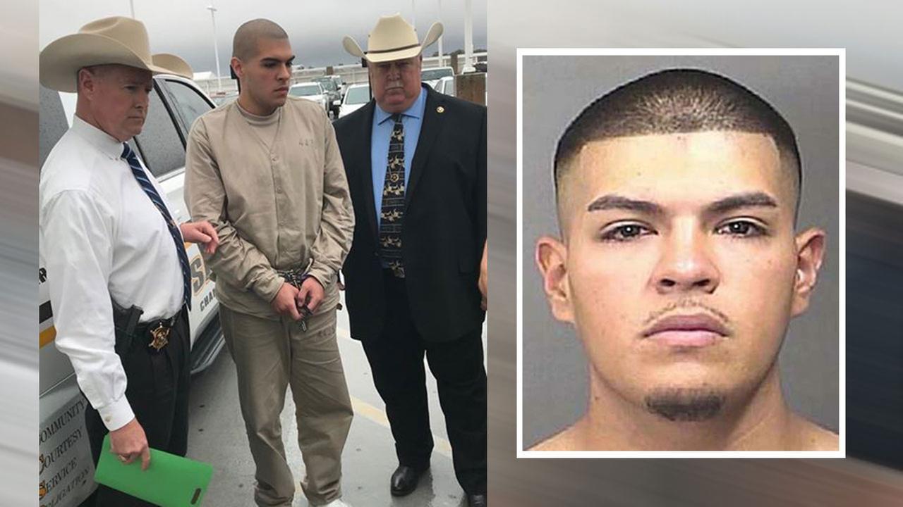 Brandon Flores arrest