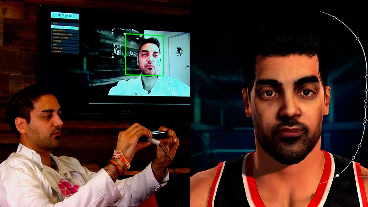 Ronnie Singhs NBA 2K15 character creation