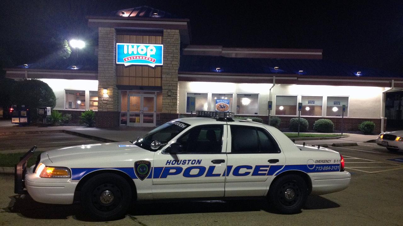 police at ihop