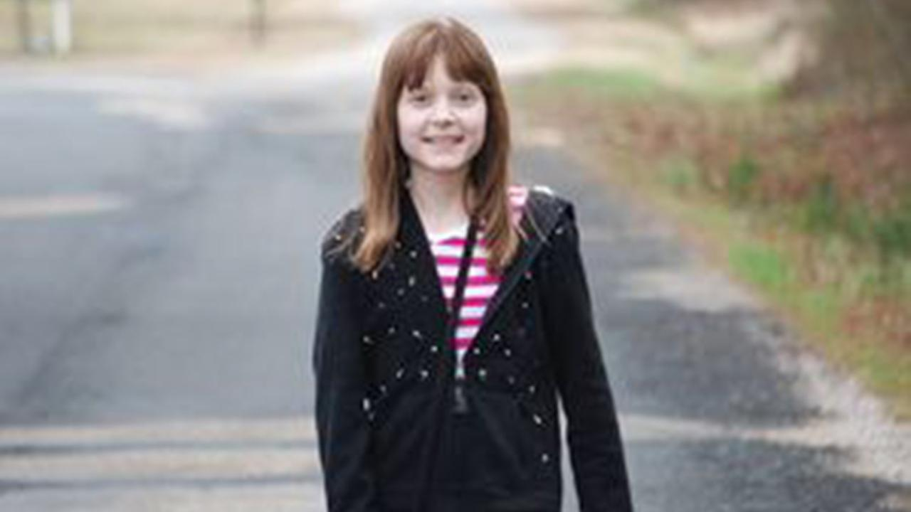 Kristina Barrett was 12 years old when she died as a result of a rare form of cancer