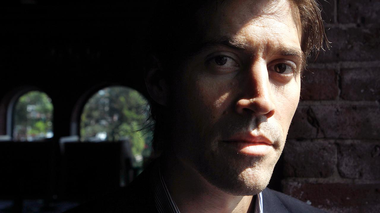 American Journalist James Foley, of Rochester, N.H., as he poses for a photo in Boston