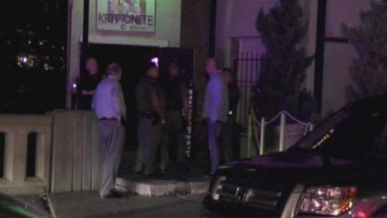 Houston nightclub Kryptonite, seen after DEA and deputy constables raided the popular night spot