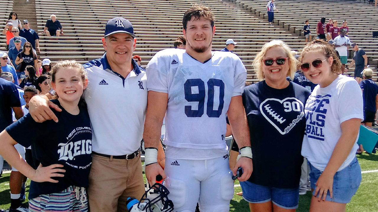 Blain Padgett and family