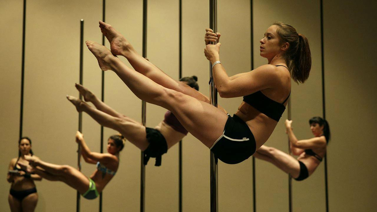 APTOPIX Pole Dancing Photo Essay
