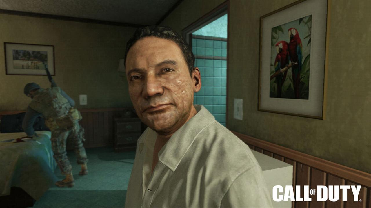 Activision Blizzard Inc. shows Manuel Noriega