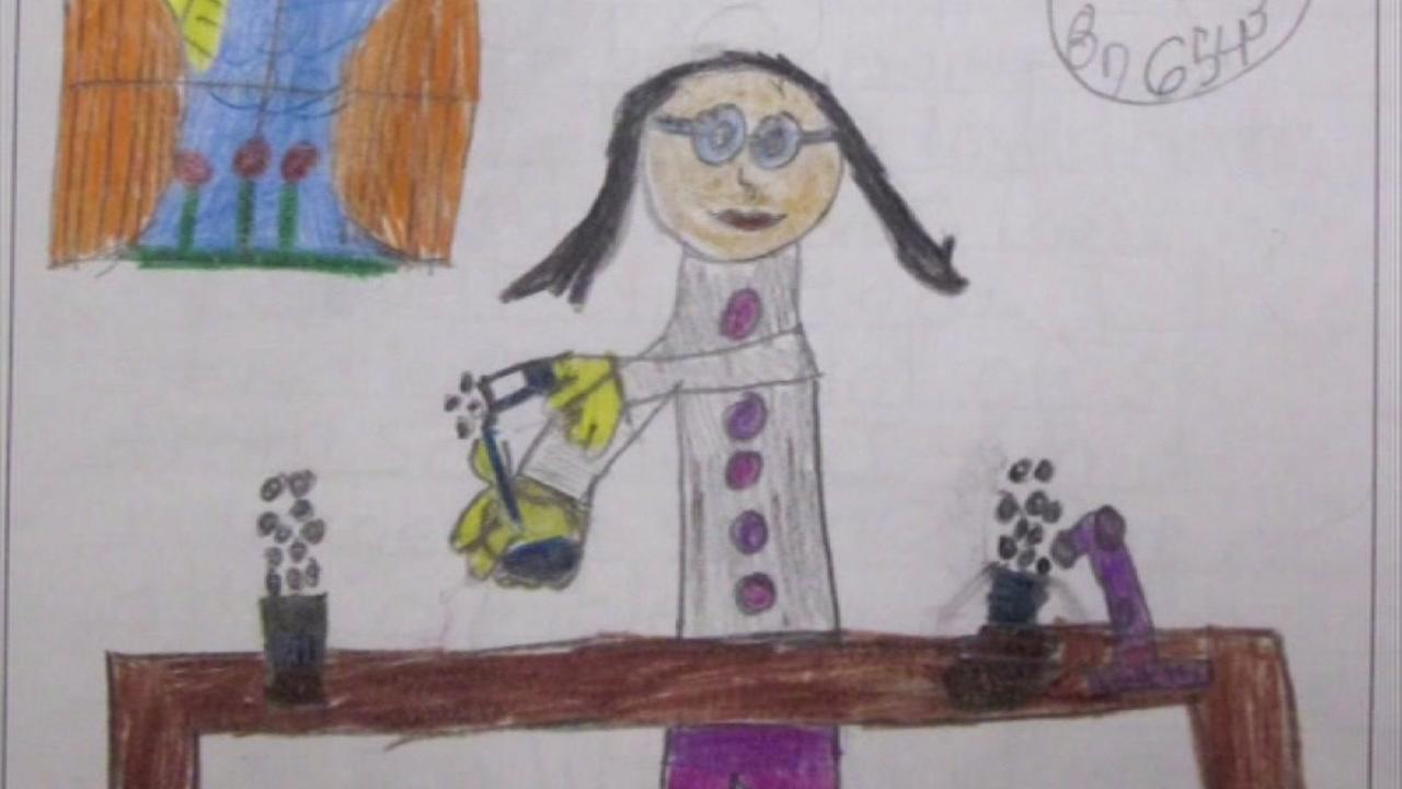 New study shows kids are drawing more female scientists than ever before.