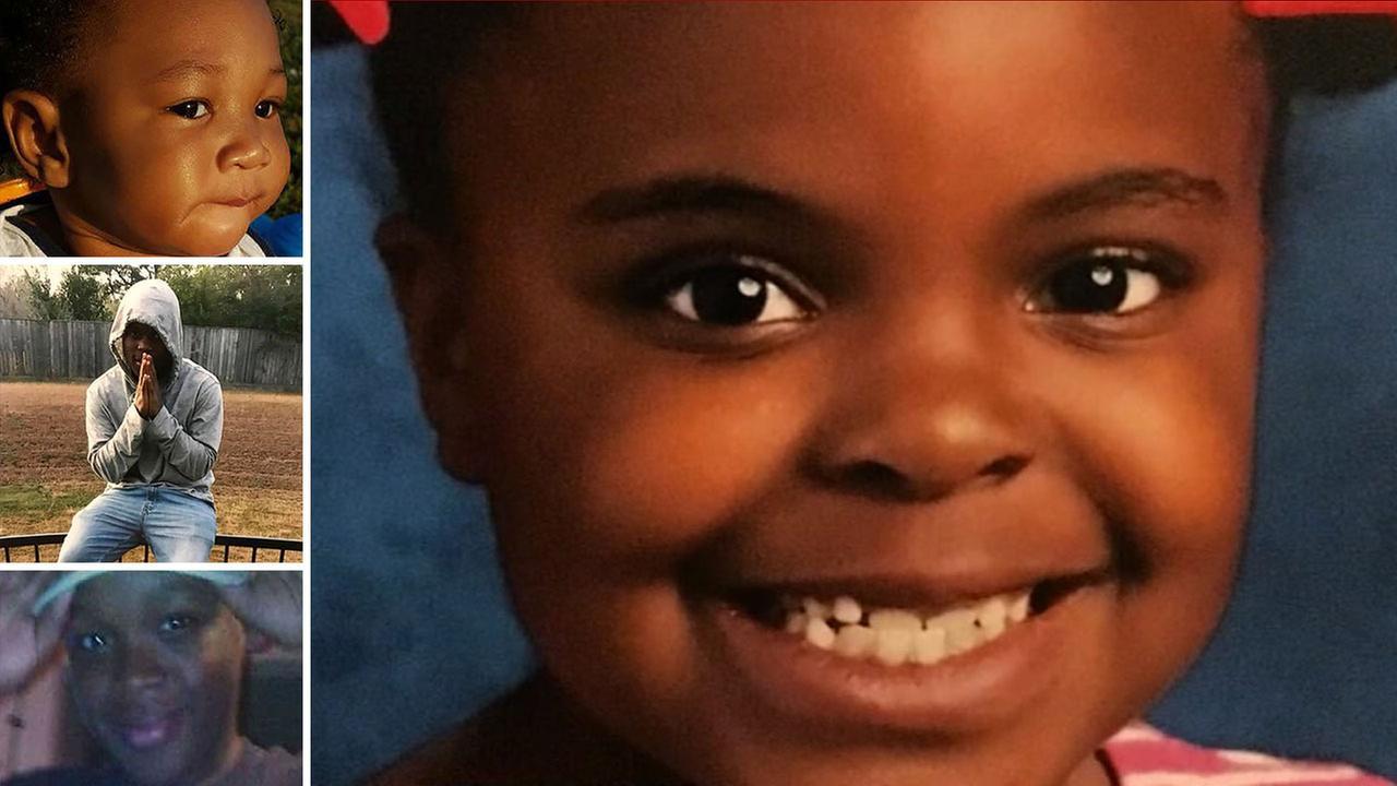Children killed in shootings in Houston