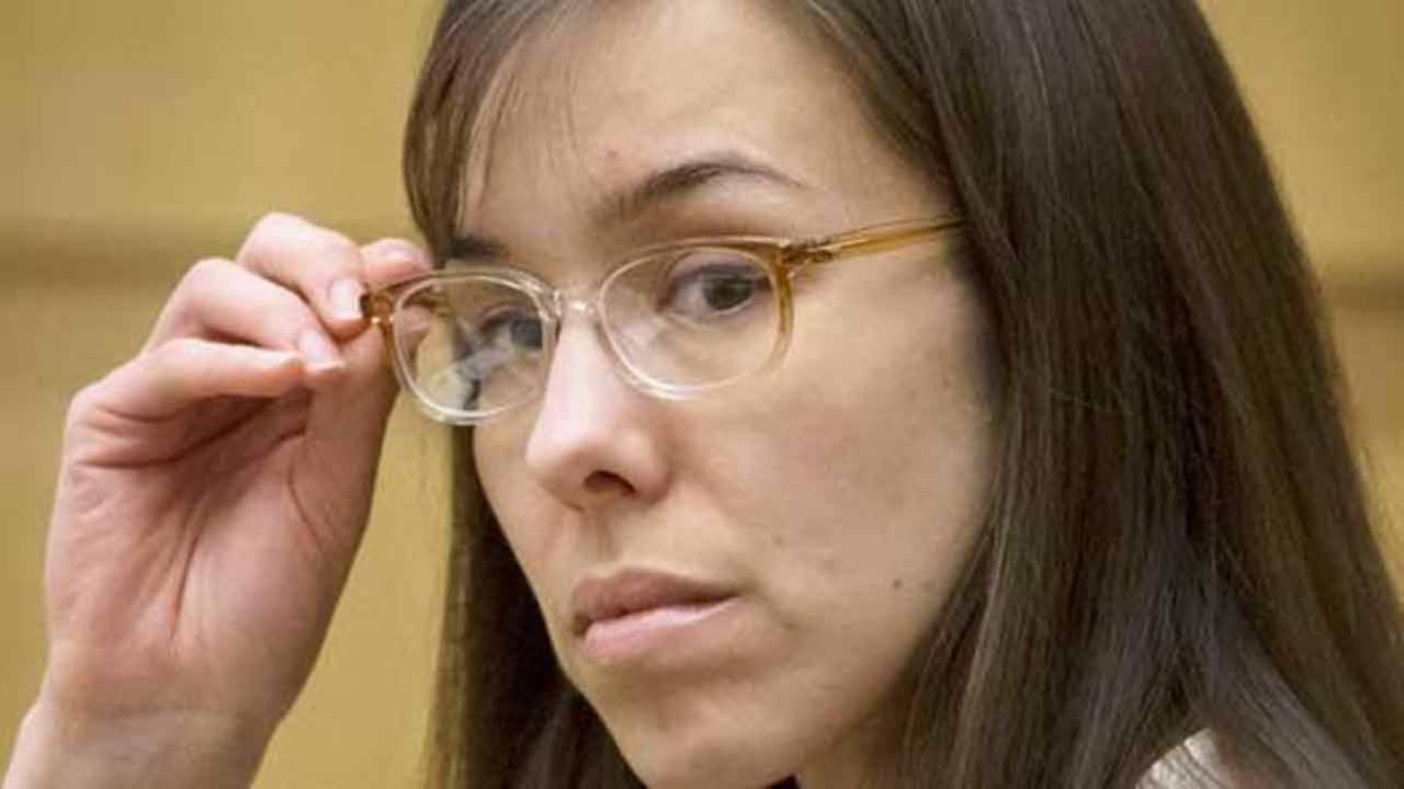Defendant Jodi Arias sits in the courtroom during her trial at Maricopa County Superior Court in Phoenix on Wednesday, May 1, 2013.