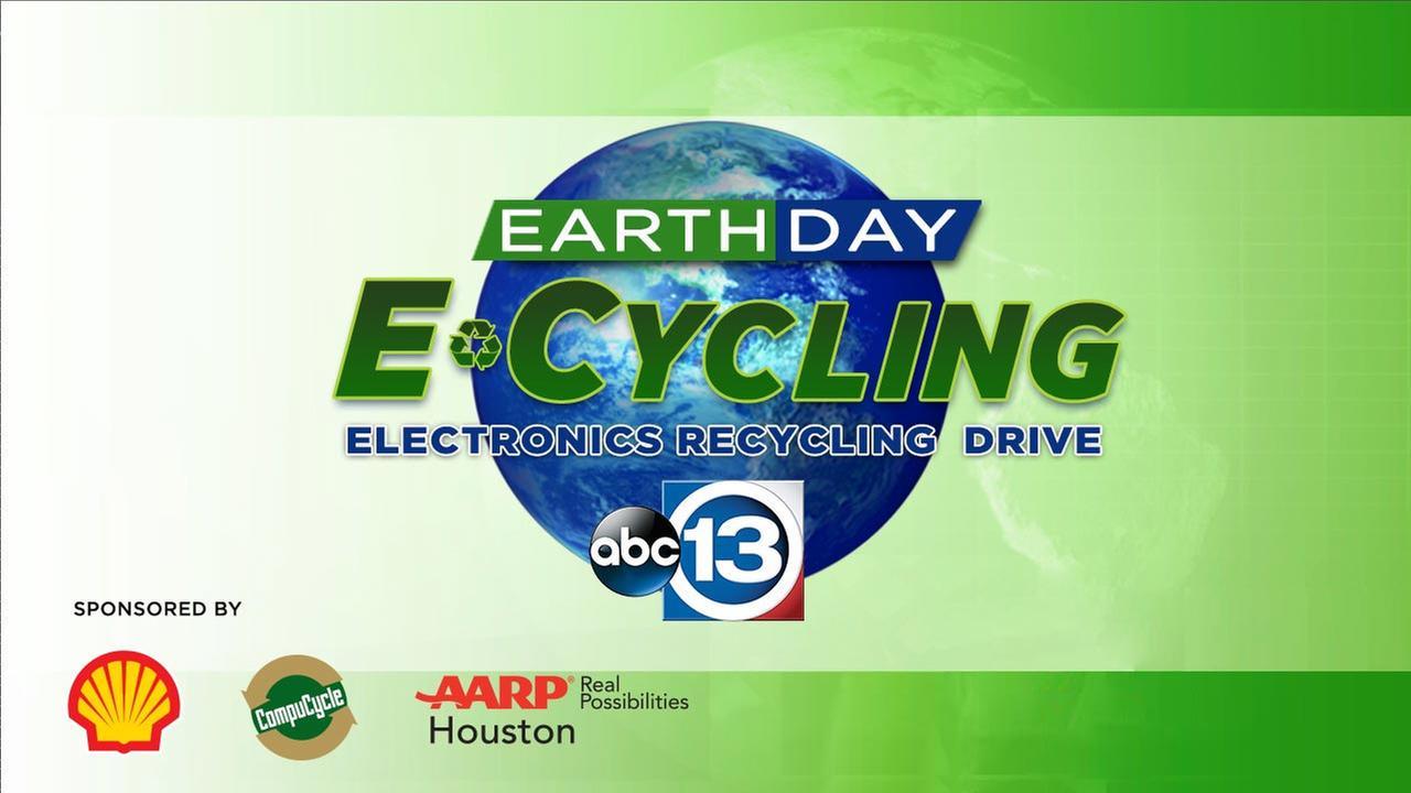 ABC13 Earth Day E-cycling Drive