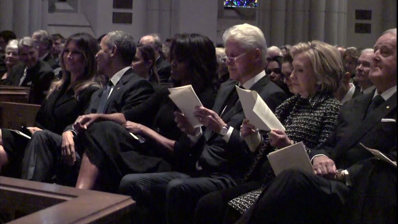 Love pours in as country honors former First Lady Barbara Bush