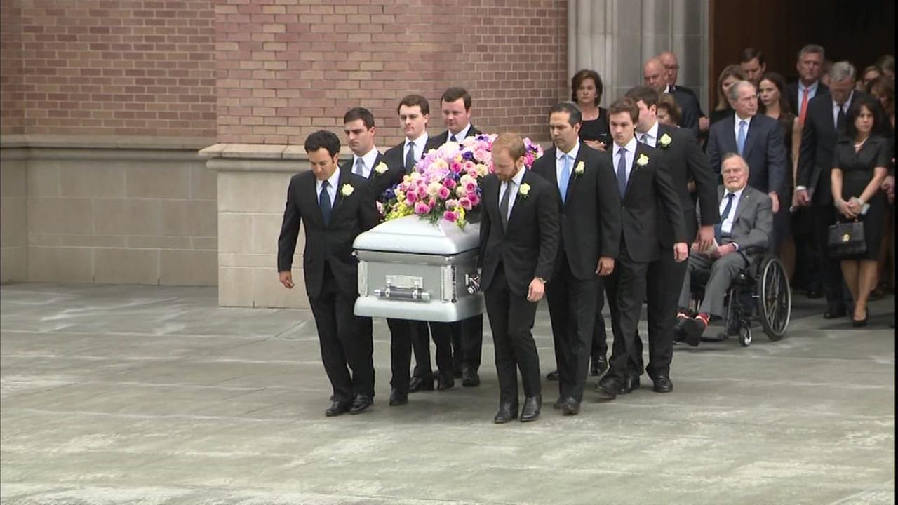WATCH LIVE: Former First Lady Barbara Bush funeral coverage