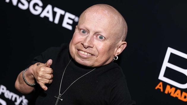 """<div class='meta'><div class='origin-logo' data-origin='AP'></div><span class='caption-text' data-credit='John Salangsang/Invision/AP'>Verne Troyer attends the world premiere of """"BOO! A Madea Halloween"""" held at ArcLight Cinerama Dome on Monday, Oct. 17, 2016, in Los Angeles.</span></div>"""