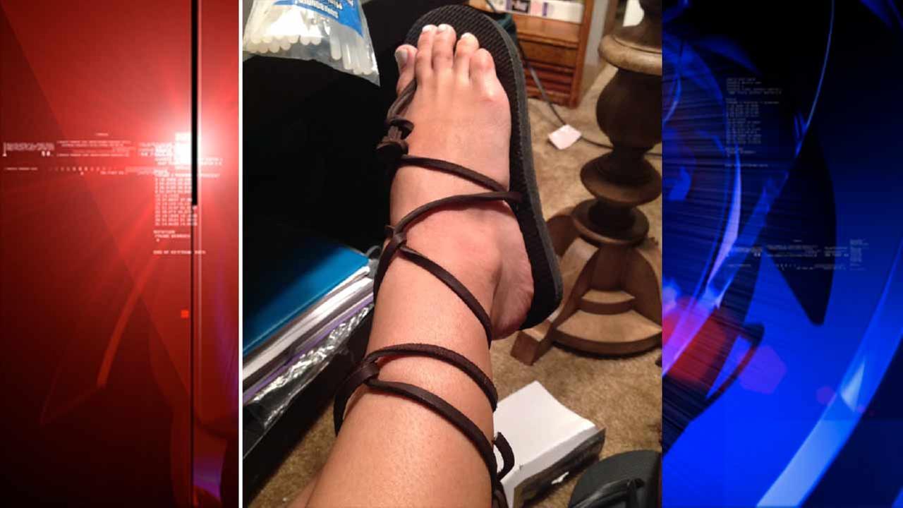 Do-It-Yourself designer summer sandals