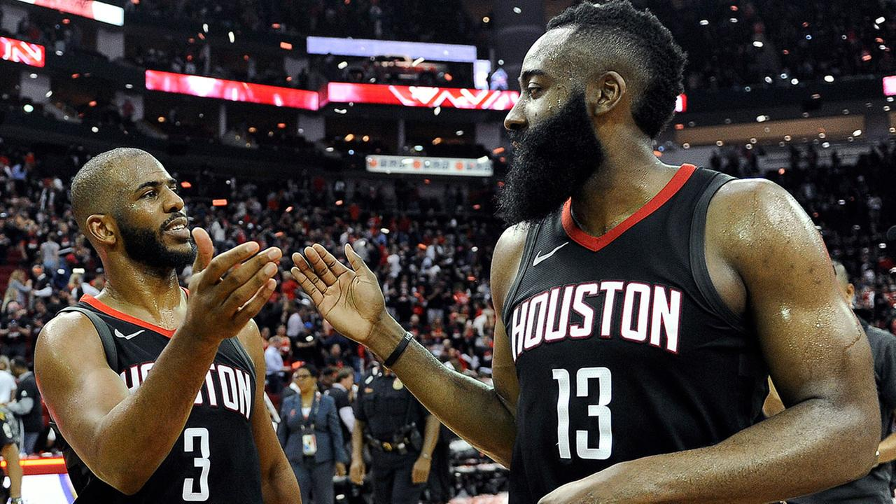 Chris Paul erupts for 41 as Rockets advance to West finals