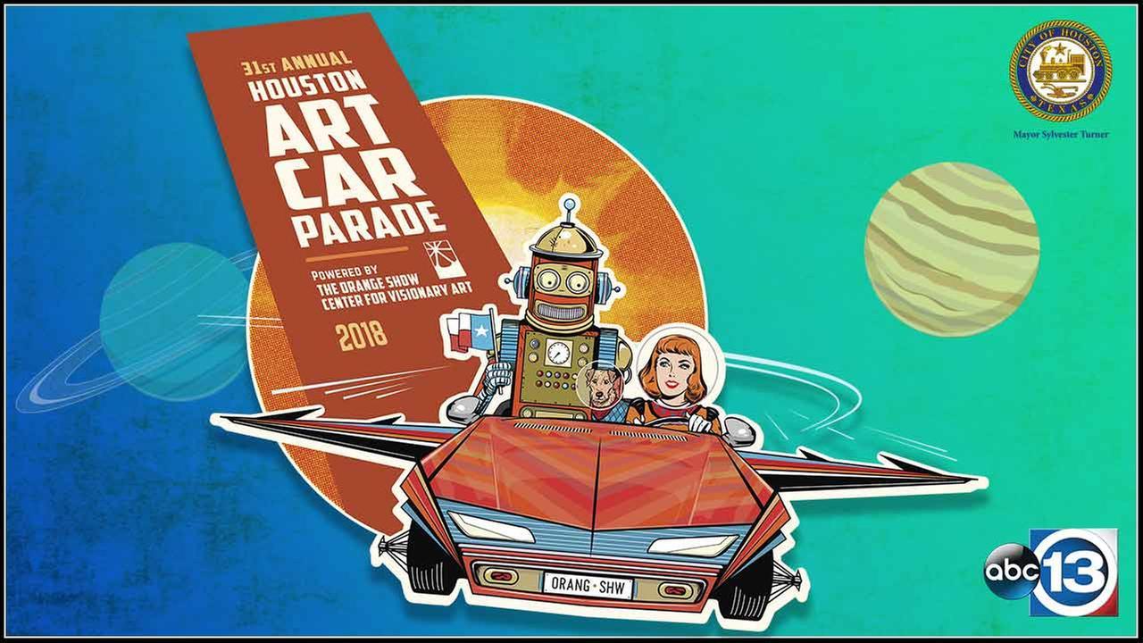 2018 Houston Art Car Parade