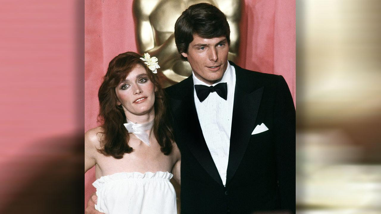 Margot Kidder and Christopher Reeve at the 51st Annual Academy Awards ceremony in Los Angeles, Calif., April 9, 1979. Kidder portrayed Lois Lane opposite Reeve in Superman.