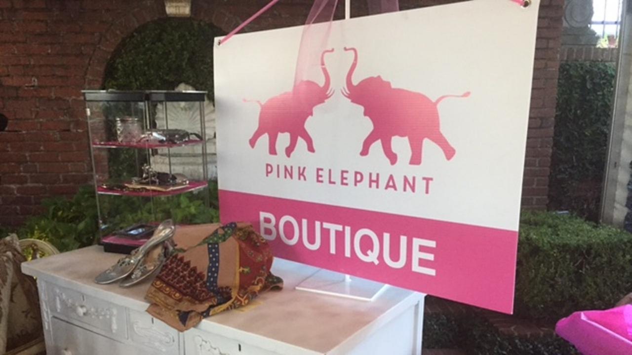 River Oaks Garden Club Pink Elephant Sale
