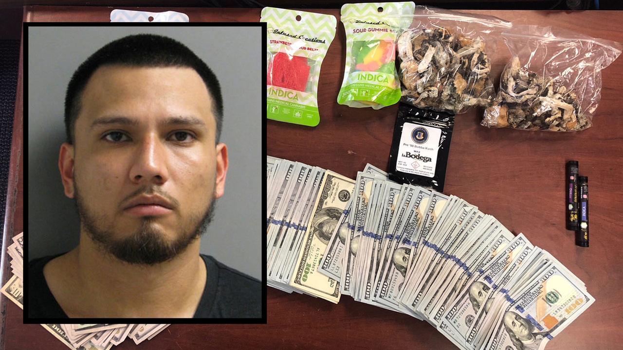 Gilbert Farias drug arrest