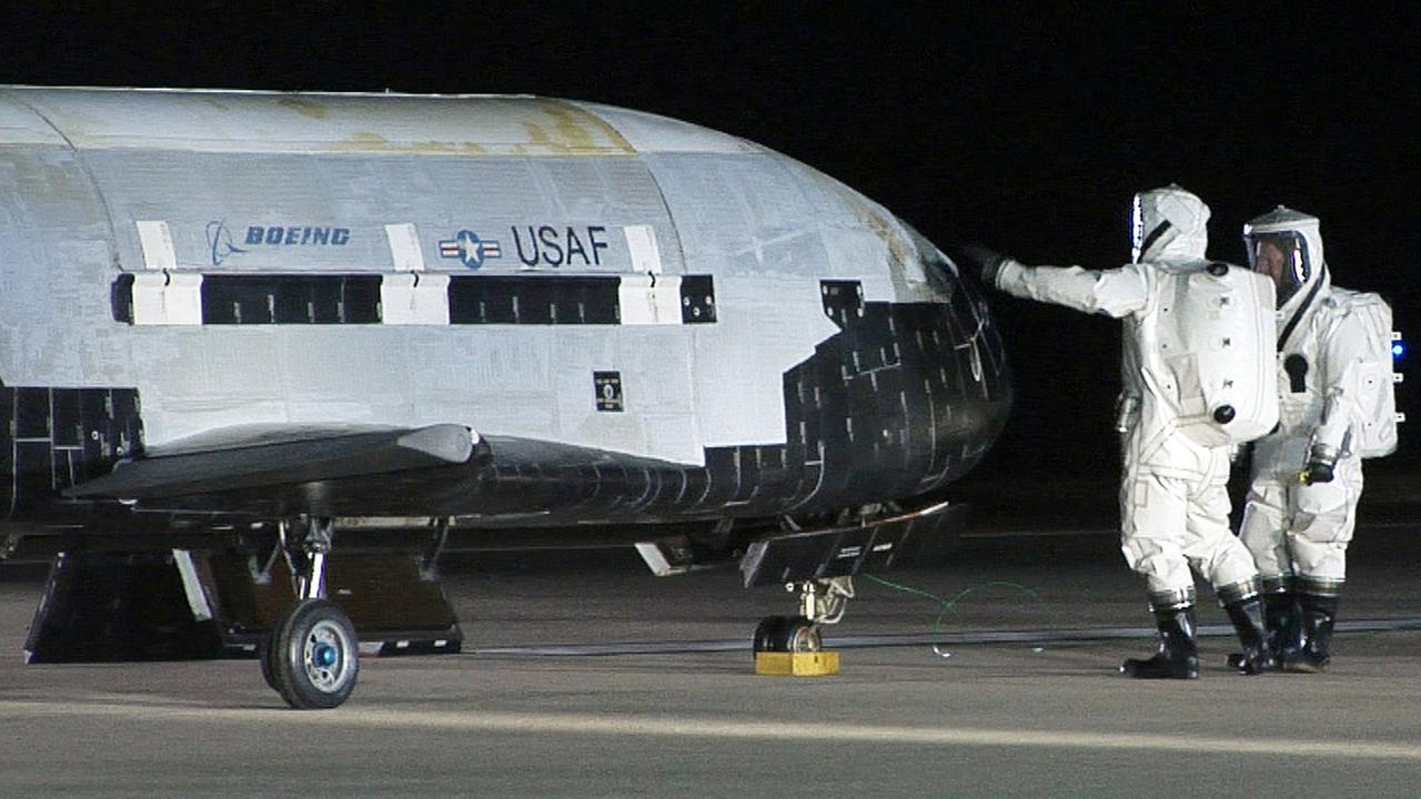 X-37B unmanned spaceplane