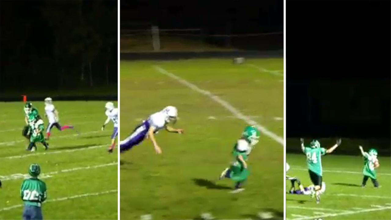 Gabe White scores touchdown