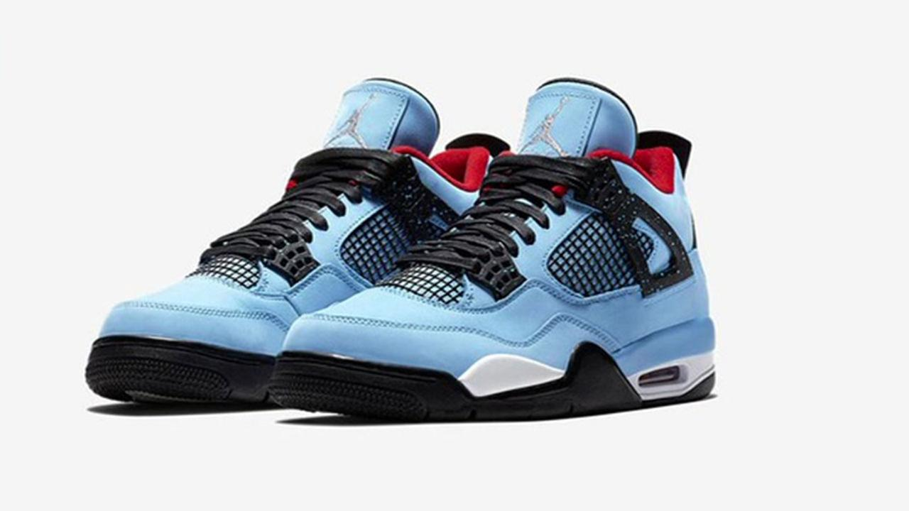 Rapper Travis Scott s new shoes to pay homage to Houston Oilers ... baf712736042