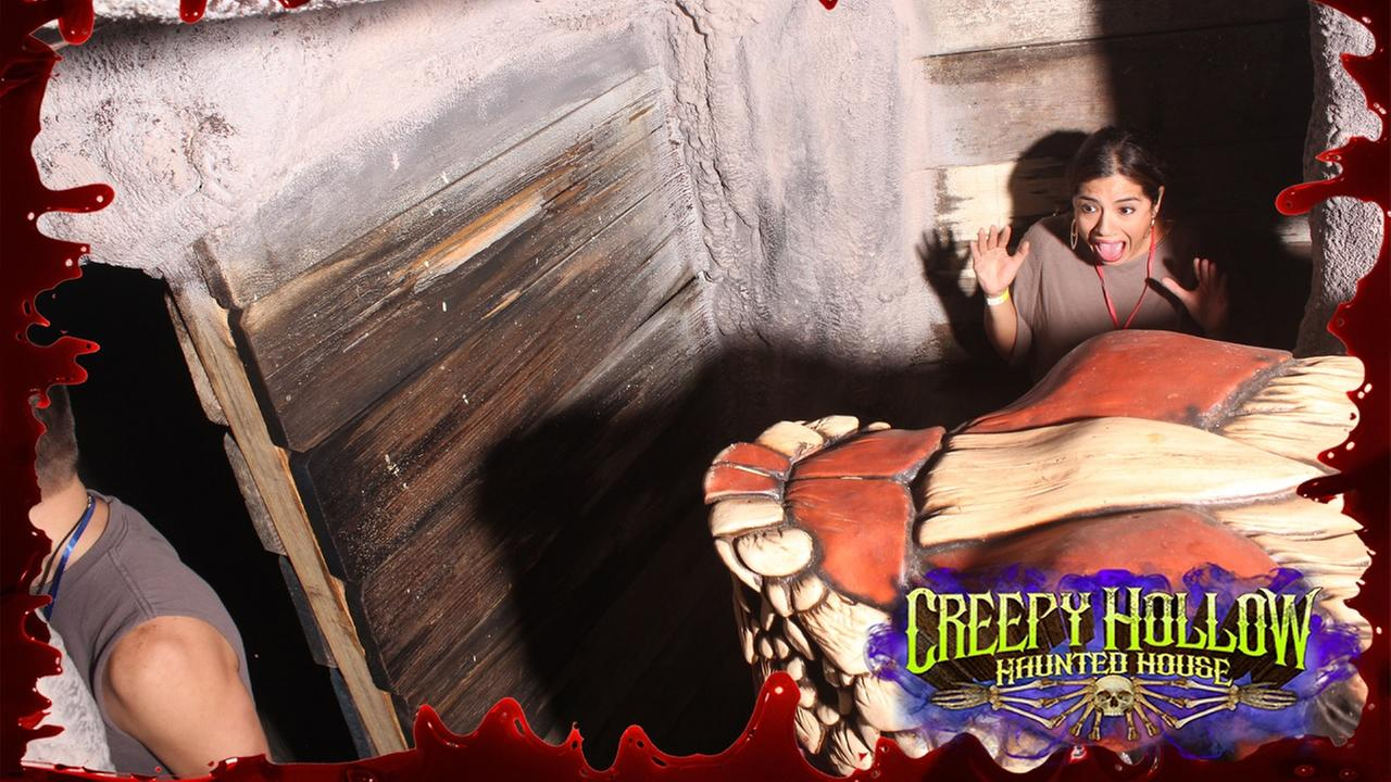 Patricia Lopez at Creepy Hollow Haunted House