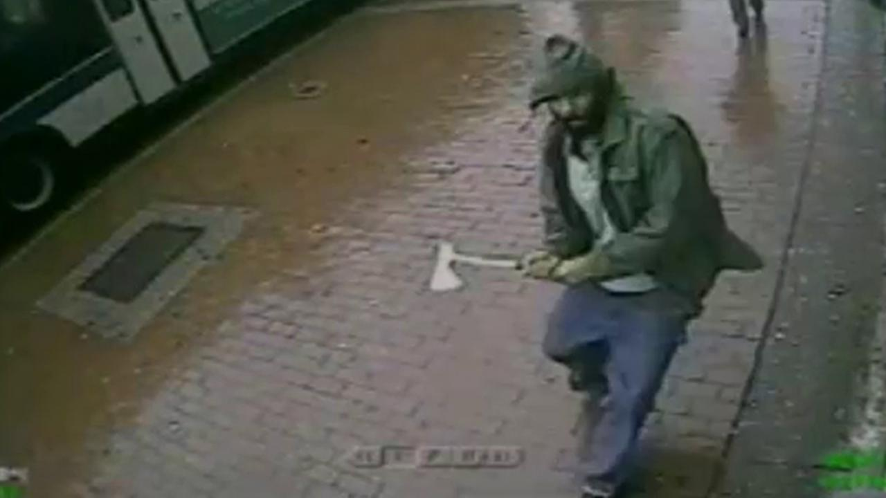 hatchet attack suspect