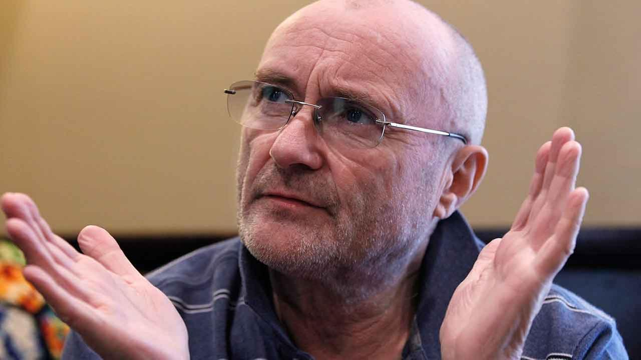 In a Tuesday May 8, 2012 photo, musician Phil Collins speaks about his new book and lifelong fascination with the Alamo in Buffalo Gap, Texas.