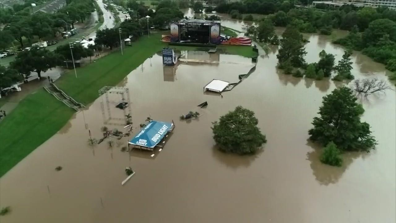 High water spots remain on Houston area roads | abc13.com