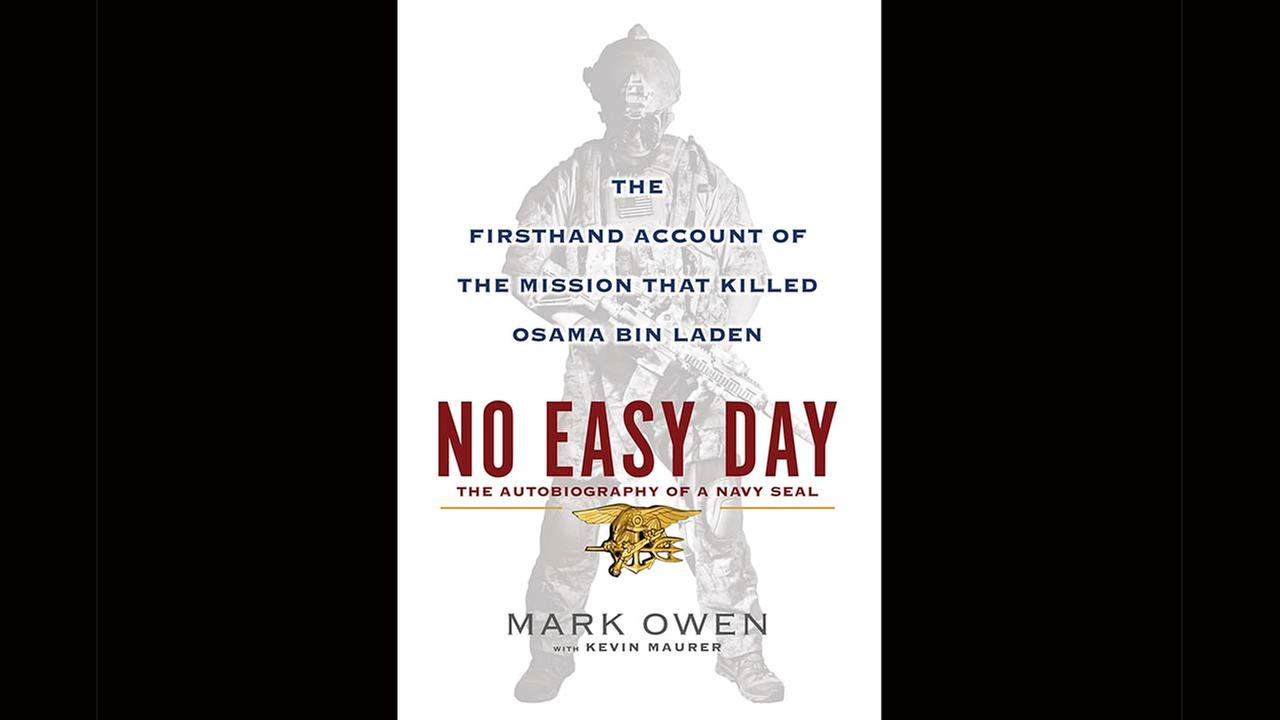 This book cover image released by Dutton shows No Easy Day: The Firsthand Account of the Mission that Killed Osama Bin Laden, by Mark Owen with Kevin Maurer.