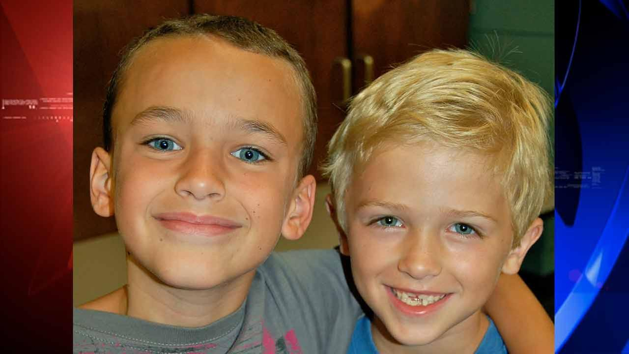 Barrett Kenny (left) and Landon Ahrendt (right) were the best of friends.