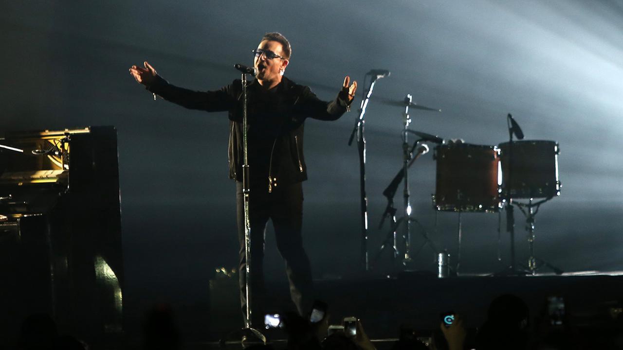 Singer Bono