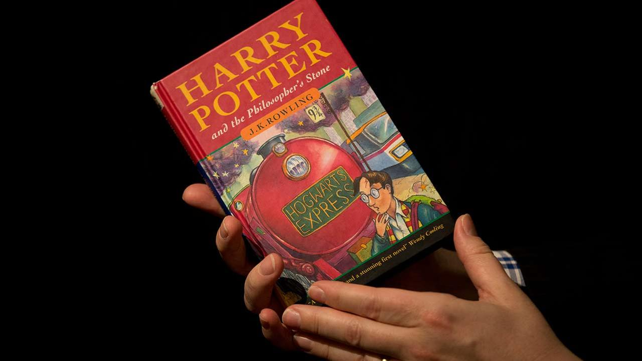 First edition copy of the first Harry Potter book Harry Potter and the Philosophers Stone