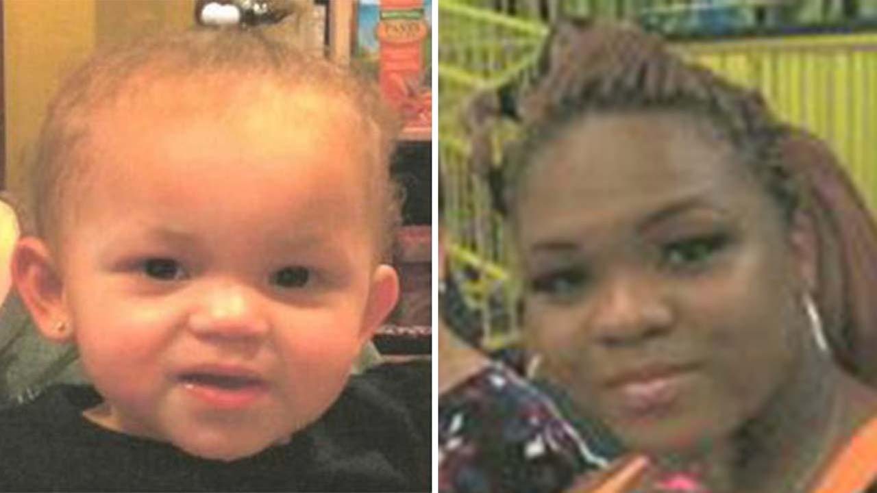 Genessa Bryant (left) is approximately 3 feet tall and weighs 25 pounds. Her biological mother, Tyreshia Cheek, stands 5 feet 3 inches tall and weighs between 140-150 pounds