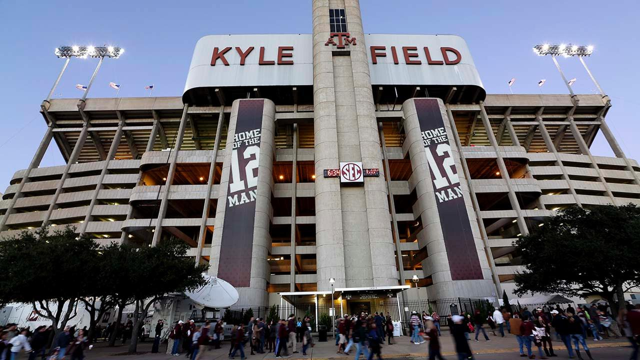 A view of Kyle Field, prior to the implosion