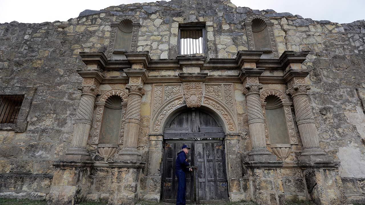 Replica of the Alamo
