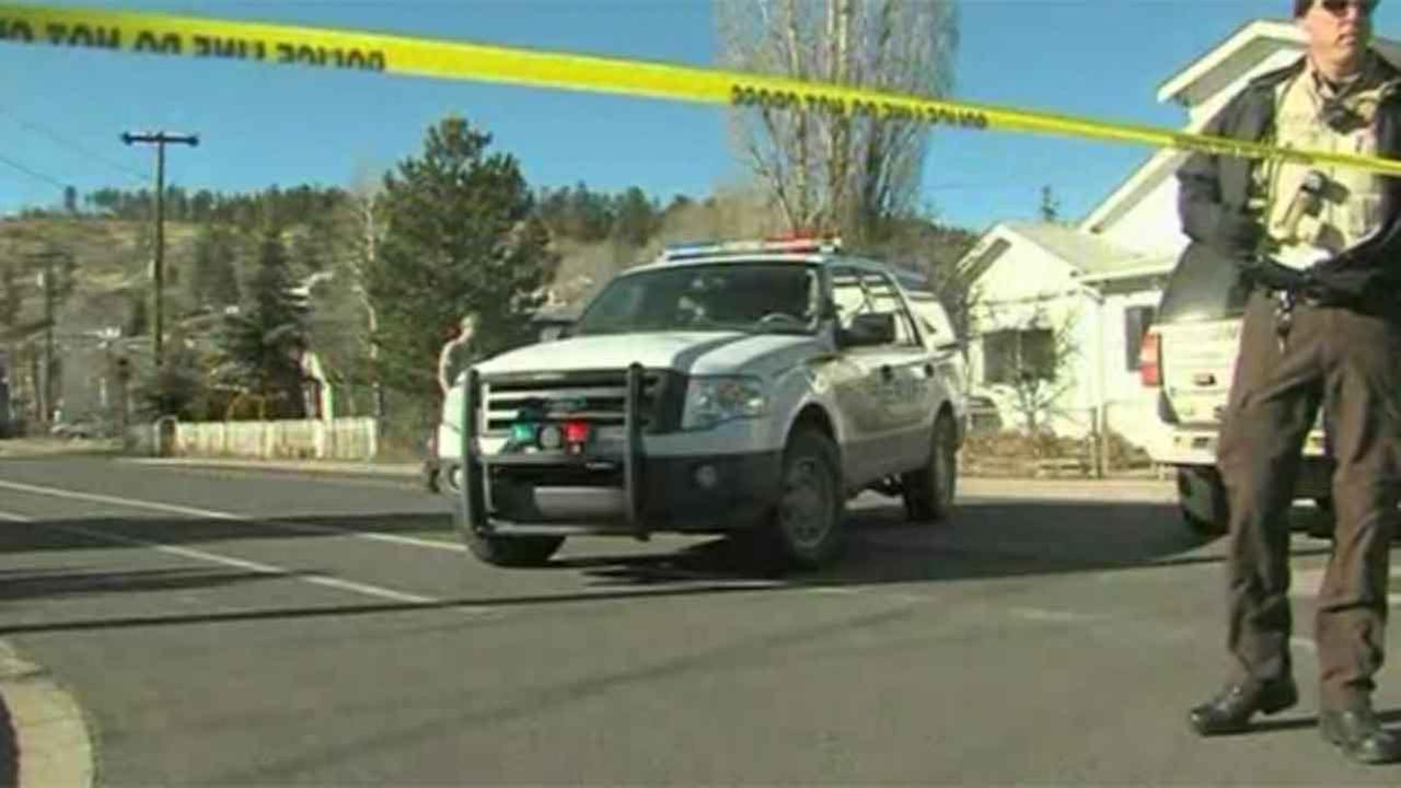 Police say a domestic violence suspect shot and killed a police officer, then killed himself.