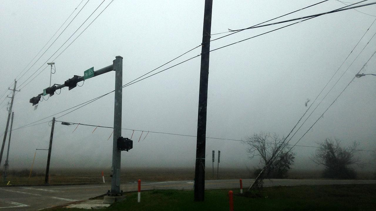 Fog in Pearland
